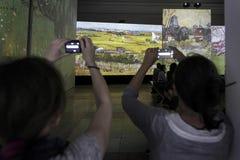 Van Gogh Alive Stock Image
