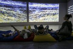 Van Gogh Alive Royalty Free Stock Photography