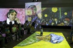 Van Gogh Alive Stock Images