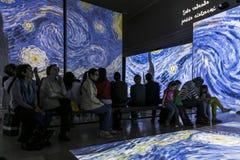 Van Gogh Alive Stock Photo