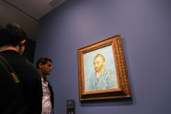 Van Gogh in Musee d'Orsay Fotografia Stock