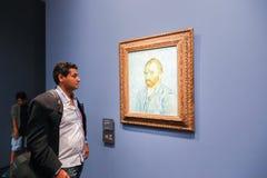 Van Gogh in Musee d'Orsay Fotografie Stock