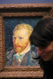 Van Gogh in Musee d'Orsay Royalty Free Stock Photo