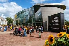 Van Gogh Museum Amsterdam Arkivbild