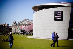 Van Gogh Museum Amsterdam Building Photographie stock