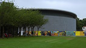 Van Gogh Museum Amsterdam City of Amsterdam stock video