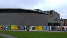 Van Gogh Museum Amsterdam City of Amsterdam stock video footage