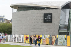 Van Gogh Museum in Amsterdam Stock Photos