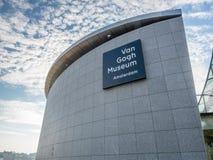 Van Gogh museum building Stock Photos