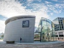 Van Gogh-Museumsgebäude stockbilder
