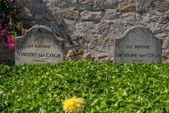 Van Gogh Tomb lizenzfreie stockfotos
