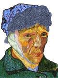 Van Gogh vom Obst und Gemüse von Stockbild