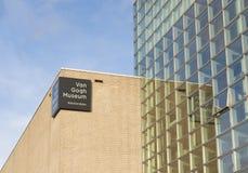 Van Gogh w Amsterdam Muzeum Fotografia Stock
