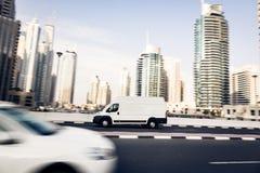 Van Going Fast Royalty-vrije Stock Foto