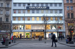 Van Graaf store in Prague Royalty Free Stock Photography