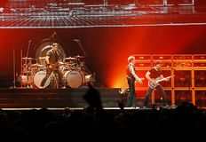 Van Halen in concert Stock Photo
