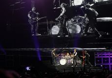 Van Halen in concert Stock Photography