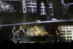 Van Halen en concierto Fotos de archivo