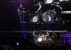 Van Halen im Konzert Stockfotografie