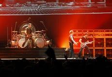 Van Halen in overleg Stock Foto