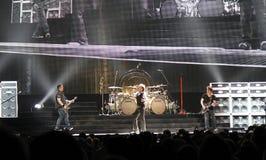 Van Halen in overleg Royalty-vrije Stock Afbeelding