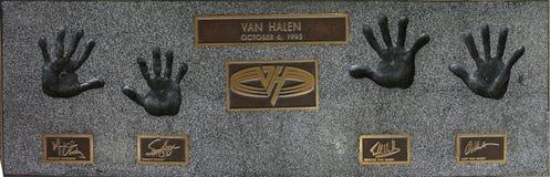 Van Hallen Imagen de archivo libre de regalías