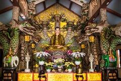 Van Hanh pagoda near Big Golden Sitting Buddha in Dalat, Vietnam Stock Photography