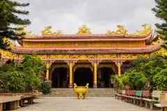 Van Hanh pagoda near Big Golden Sitting Buddha in Dalat, Vietnam Royalty Free Stock Image