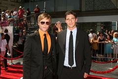 Van Hansis and Jake Silbermann Daytime Emmys 2008  - Los Angeles, CA Stock Photo