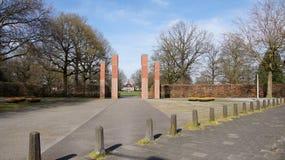 Van Heekpark entrance in Enschede Royalty Free Stock Photo