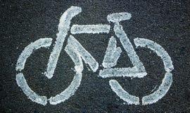 Van het achtergrond fietspictogram textuur met wat fijne korrel stock afbeelding