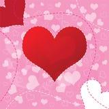 Van het achtergrond hart ontwerp vector illustratie