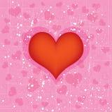 Van het achtergrond hart ontwerp royalty-vrije illustratie