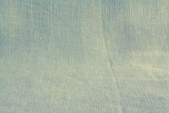 Van het achtergrond linnen natuurlijke canvas basisstof Royalty-vrije Stock Foto's