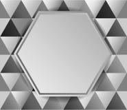 Van het achtergrond metaal diamanten vector illustratie