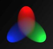 Van het achtergrond spectrum illustratie Stock Foto