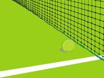 Tennis achtergrondkaart stock foto's