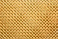 Van het achtergrond wafeltje textuur stock fotografie