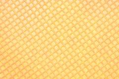 Van het achtergrond wafeltje textuur Stock Afbeeldingen