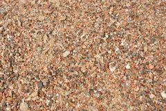 Van het achtergrond zand textuur Royalty-vrije Stock Afbeeldingen