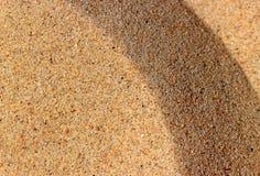 Van het achtergrond zand textuur Stock Foto's