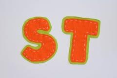 Van het alfabet set Royalty-vrije Stock Fotografie