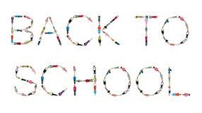 Van het Alfabetkinderjaren van wereldkinderen de Kennisconcept Stock Afbeeldingen