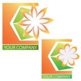 Van het bedrijfs bedrijf embleem Royalty-vrije Stock Foto