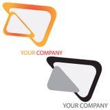 Van het bedrijfs bedrijf embleem Stock Foto