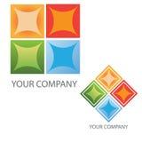 Van het bedrijfs bedrijf embleem Royalty-vrije Stock Afbeeldingen