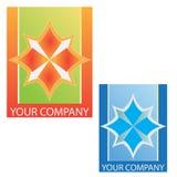 Van het bedrijfs bedrijf embleem Stock Foto's