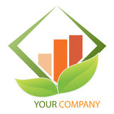 Van het bedrijfs bedrijf embleem Stock Afbeelding