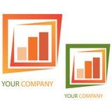 Van het bedrijfs bedrijf embleem - Investering Royalty-vrije Stock Foto's