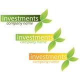 Van het bedrijfs bedrijf embleem - Investering Stock Afbeeldingen